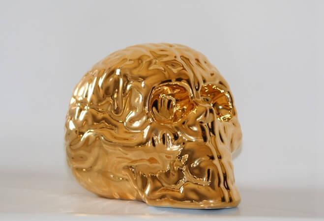 KOlin tribu Skullbrain GOLD by Emilio Garcia full