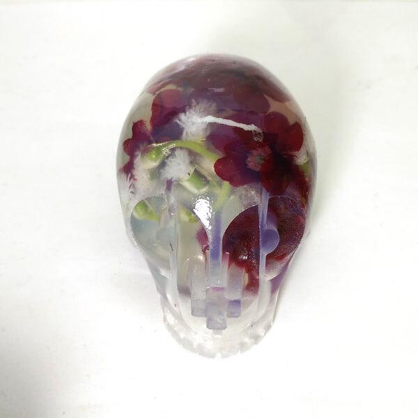 driedflowersskull
