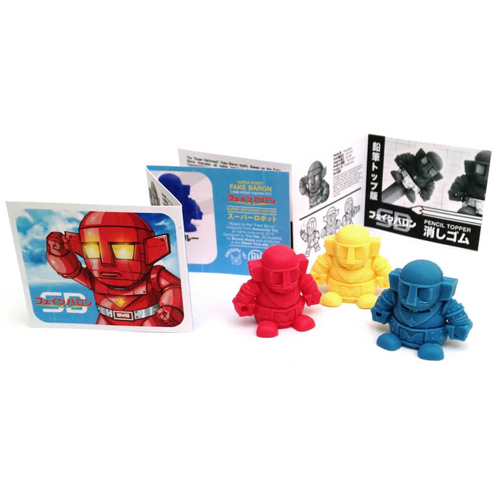 "Awesome Toy SD ""FAKE BARON"" Keshi Figure 3 pack SET"