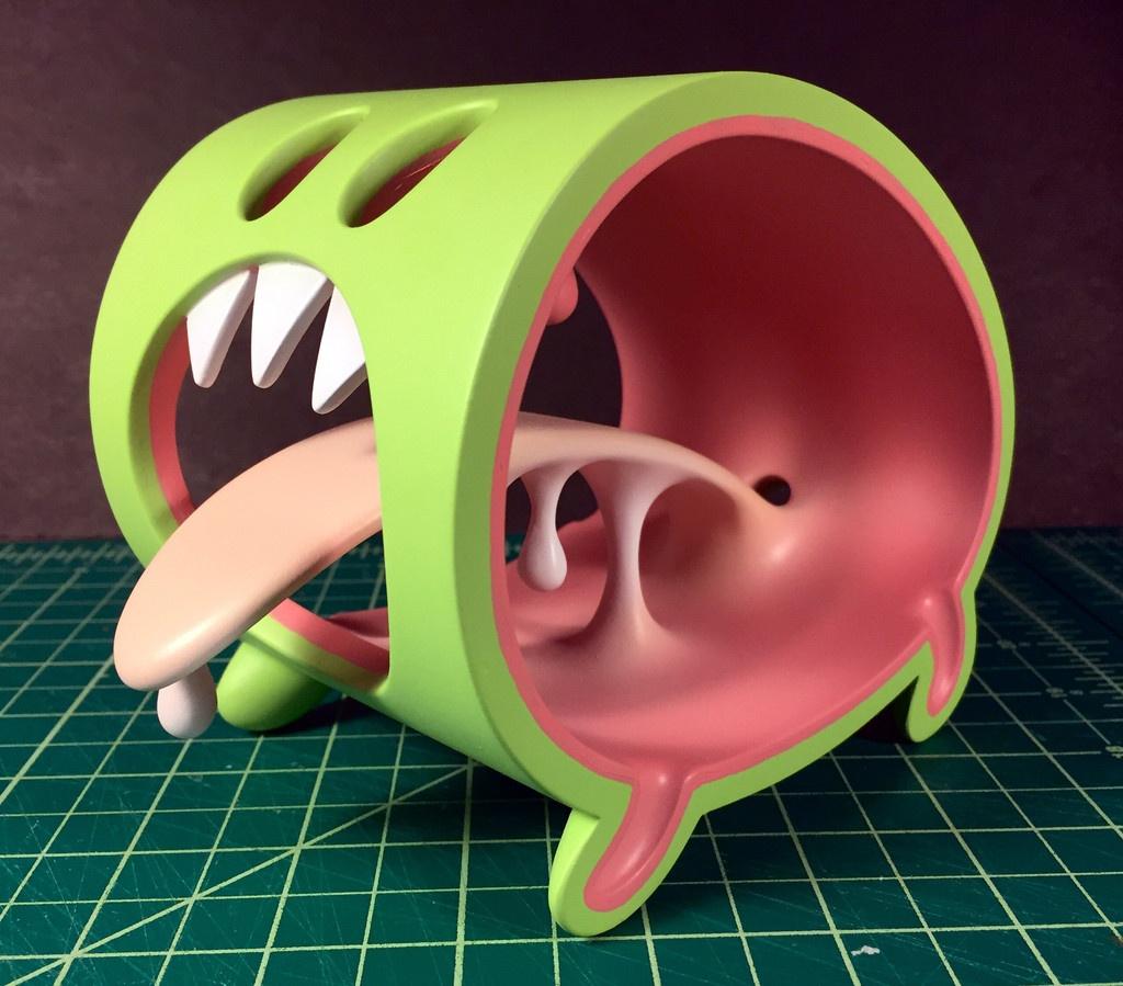 Little Monster by Jason Freeny green