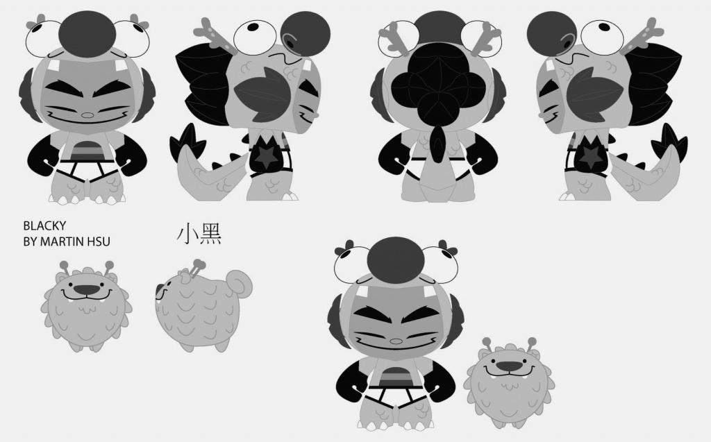 Martin Hsu Dragon Boy and Blacky SD 2016