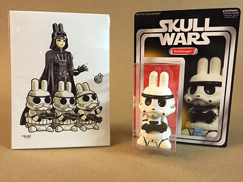 Skull Wars Buntrooper by ben sato x print