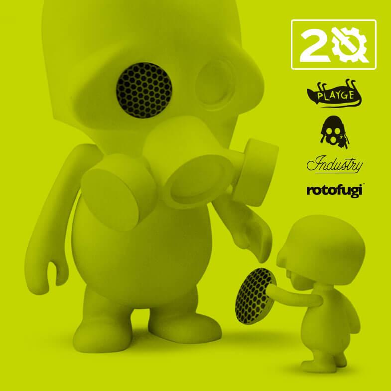 Squadt Assembly 20- Playge x Rotofugi Pop-Up Shop Exhibition Threezero