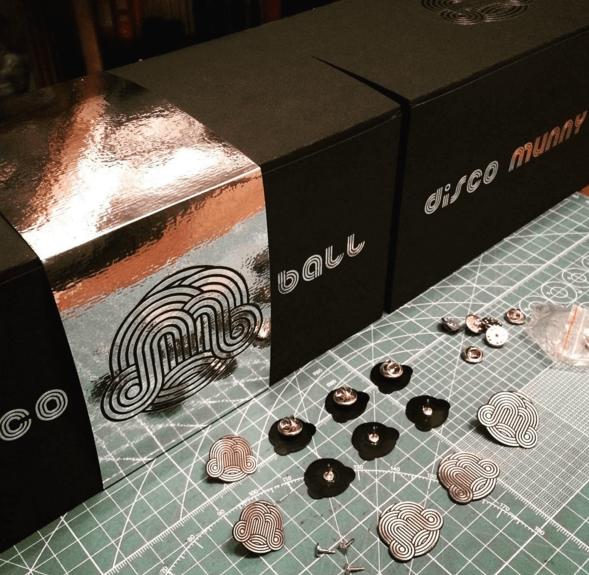 7 inch Disco Munny Ball by ikargram IKAR11 discomunnyball pins