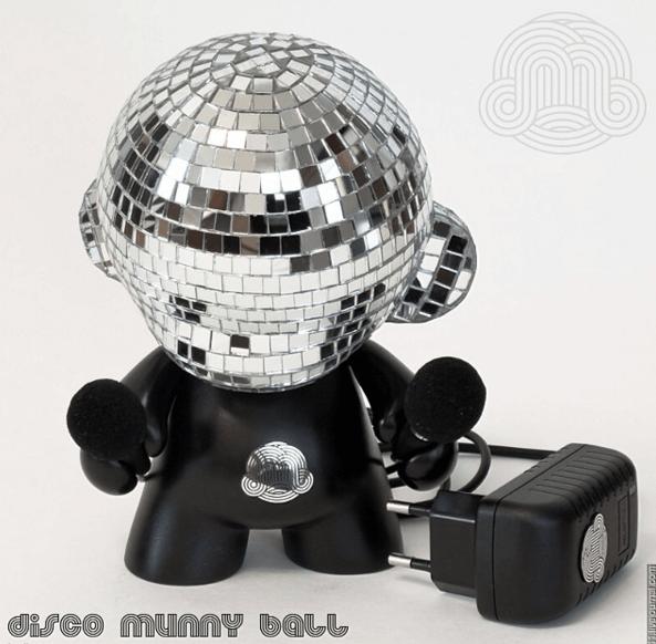 7 inch Disco Munny Ball by ikargram discomunnyball