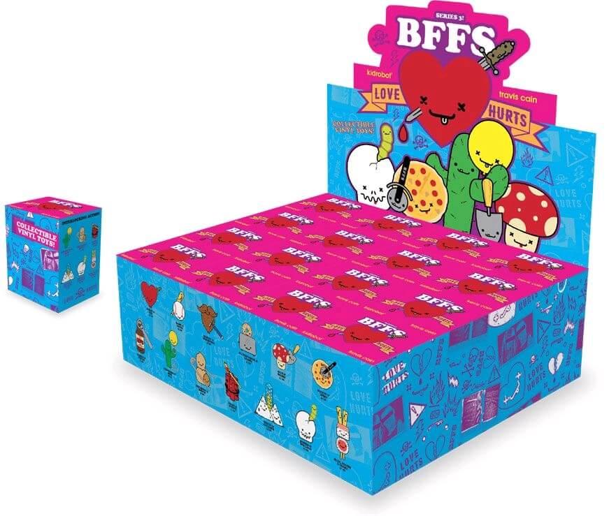 BFF Love Hurts Mini Series - Blind Box kidrobot travis cain 2