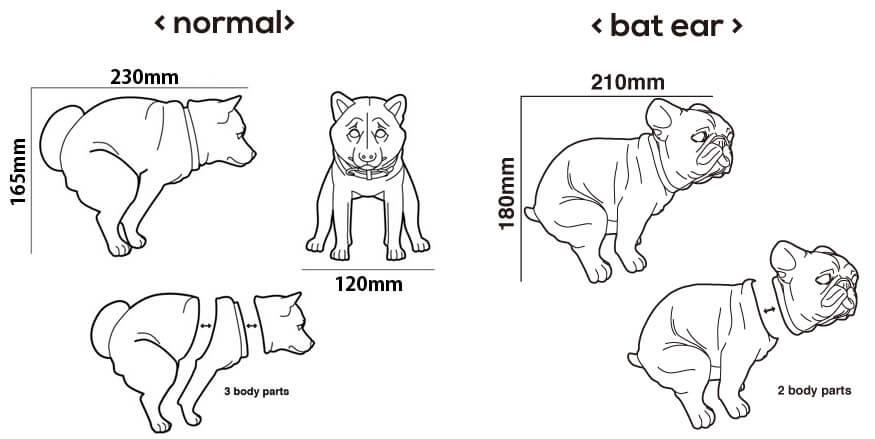 Bat Ear Frenchie By Squatting Dog ill