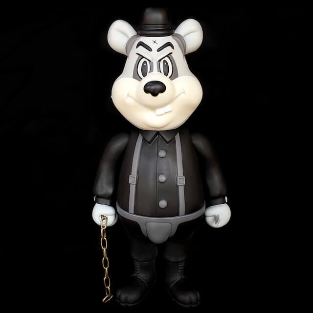BlackBook Toy x Frank Kozik Dim Mono Edition