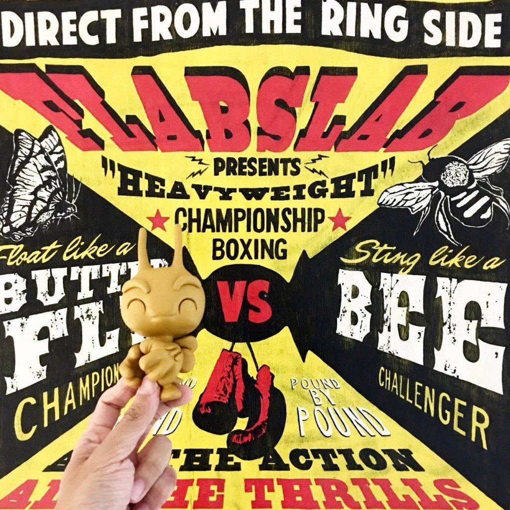 Butterbee By UMEToys x FLABSLAB buzzzzzz