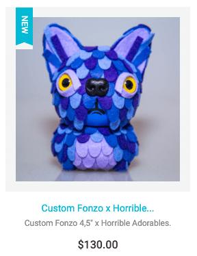 Horrible Adorables Custom FONZOs