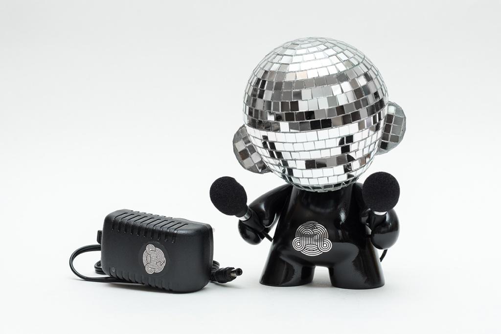 Ilya Kaner Kidrobot Disco Munny Ball Release Info far shot