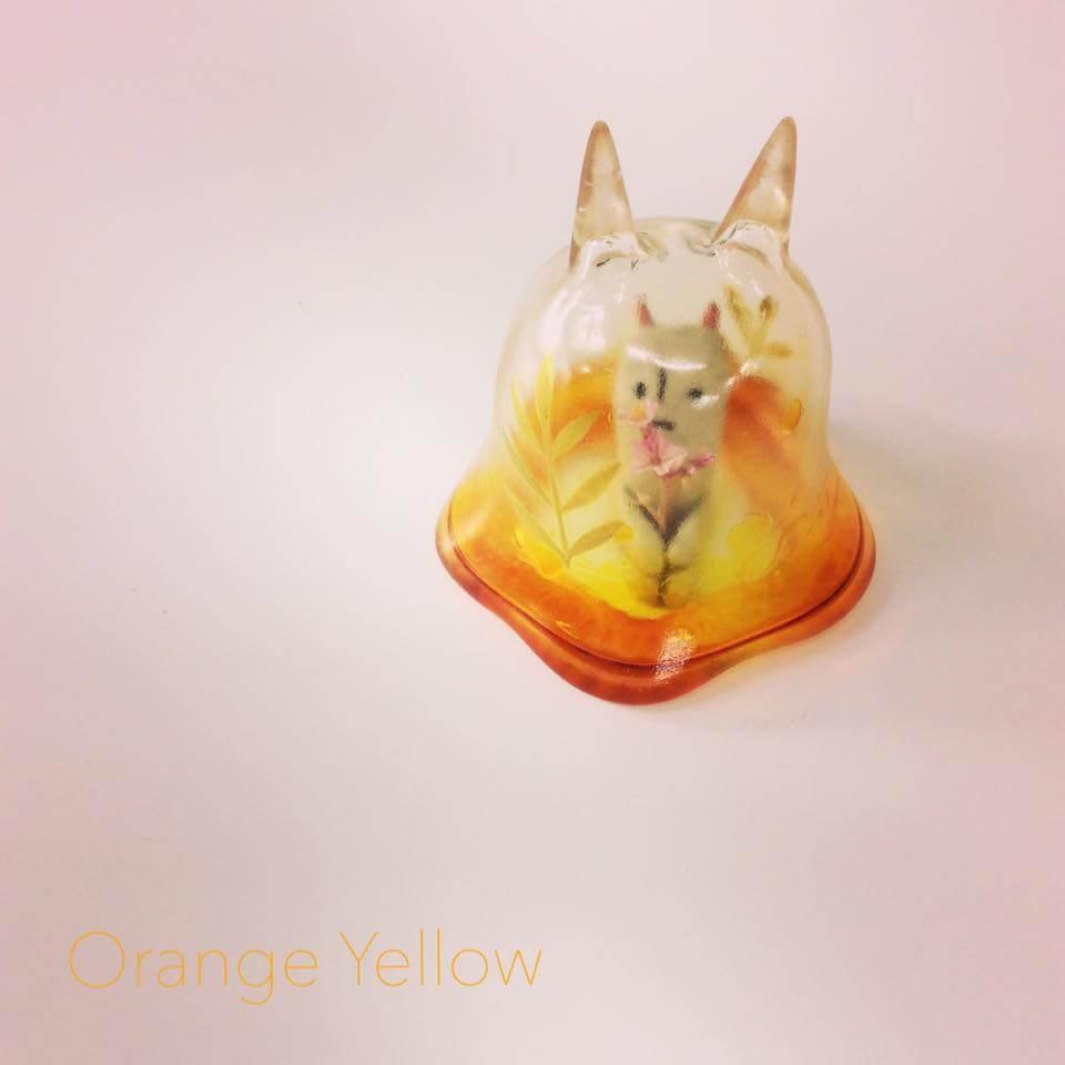 Moo Chuck By KKAMoxo x Toinz Chuck orange yellow