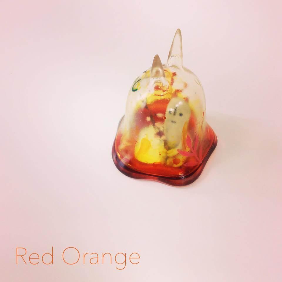 Moo Chuck By KKAMoxo x Toinz Chuck red orange