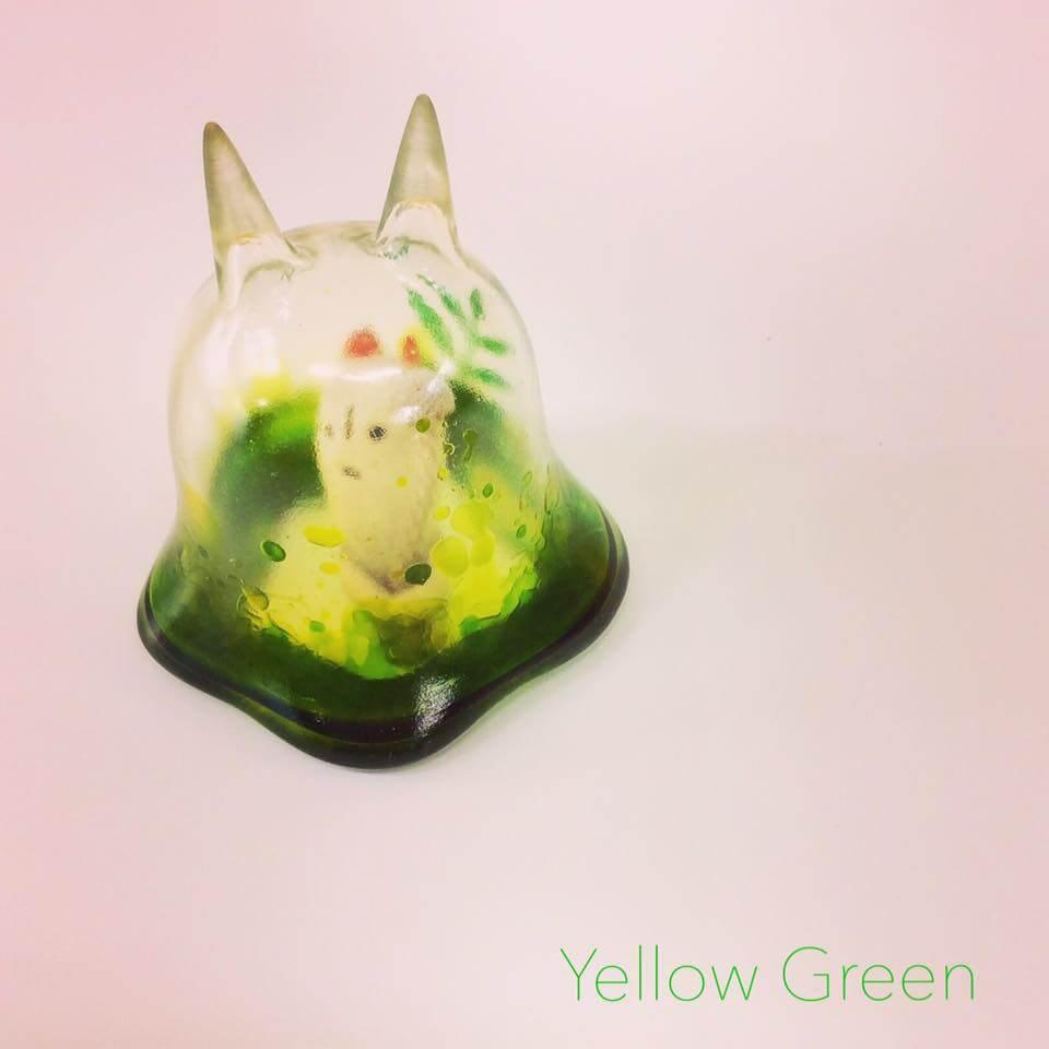 Moo Chuck By KKAMoxo x Toinz Chuck yellow green