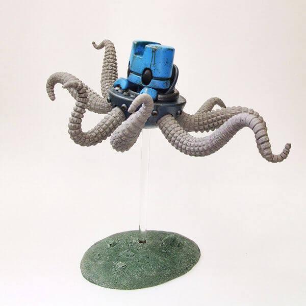 Octeapus Deep Blue Mechanimal series By DMS