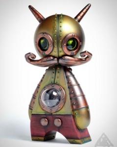 Doktor A ToyCon UK custom mechtorians Dunny Lego Copper Creeps