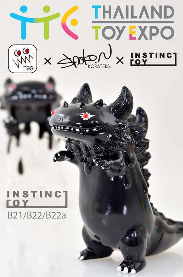 Tg9 shoko nakazawa instinctoy ranferon liquid thailand toy expo 2016 inverted bryon