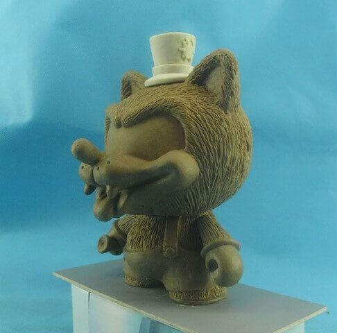 Willy the Wolf Trikky By Shiffa x Kidrobot
