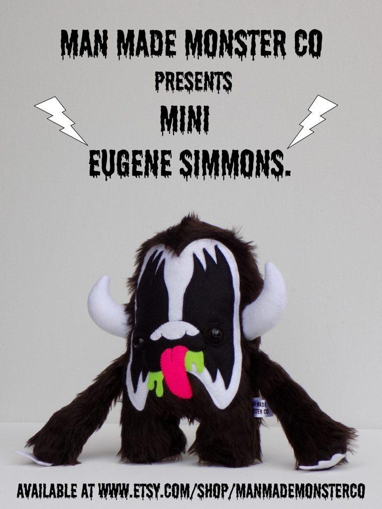 mini G man made monster co Eugene Simmons