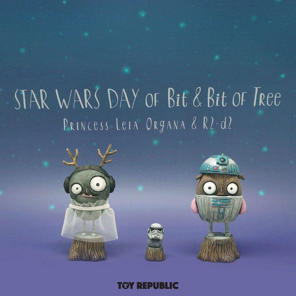 Commonground ToyRepublic STAR WARS DAY of Bit Bit of Tree By Sujevitoy