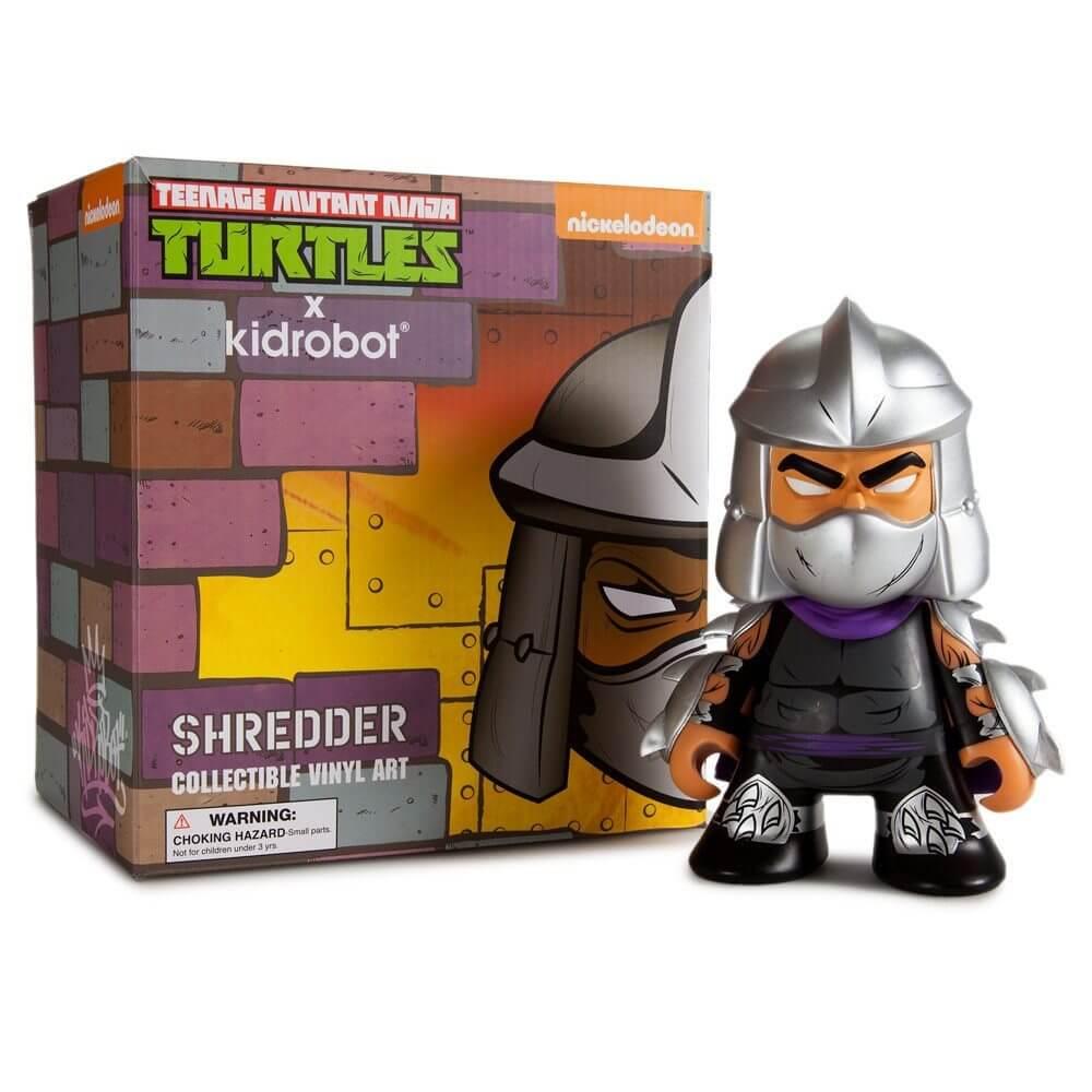 Kidrobot TMNT Shredder 8 inch vinyl toy