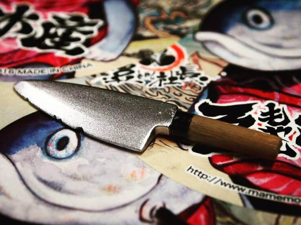 MAGURO by Mame Moyashi sashimi knife