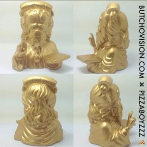 Vatican Gold Cheesus Crust