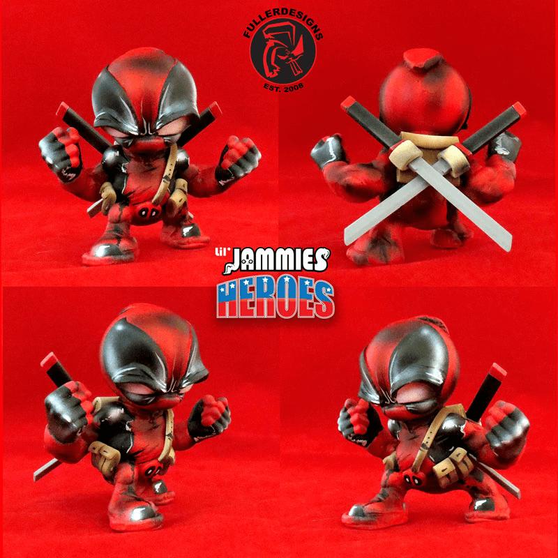 Deadpool Venom Lil Jammie Heroes By Fuller Designs