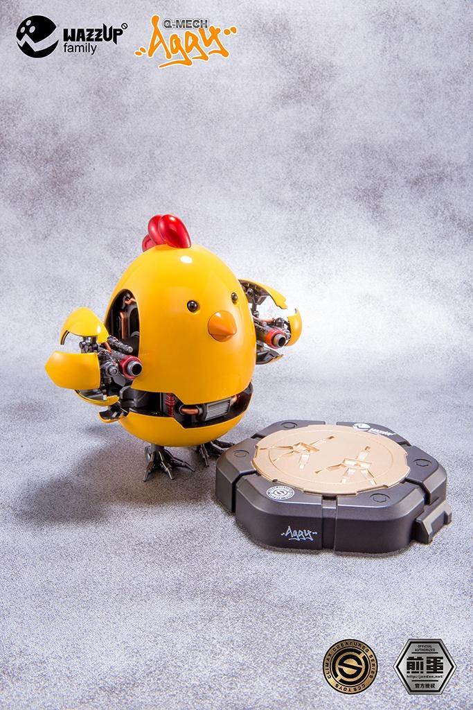 Fanmade Q-mech Aggy chicken 2
