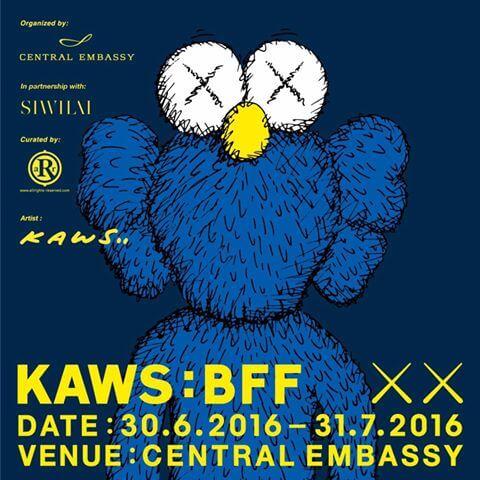 Kaws bff prints