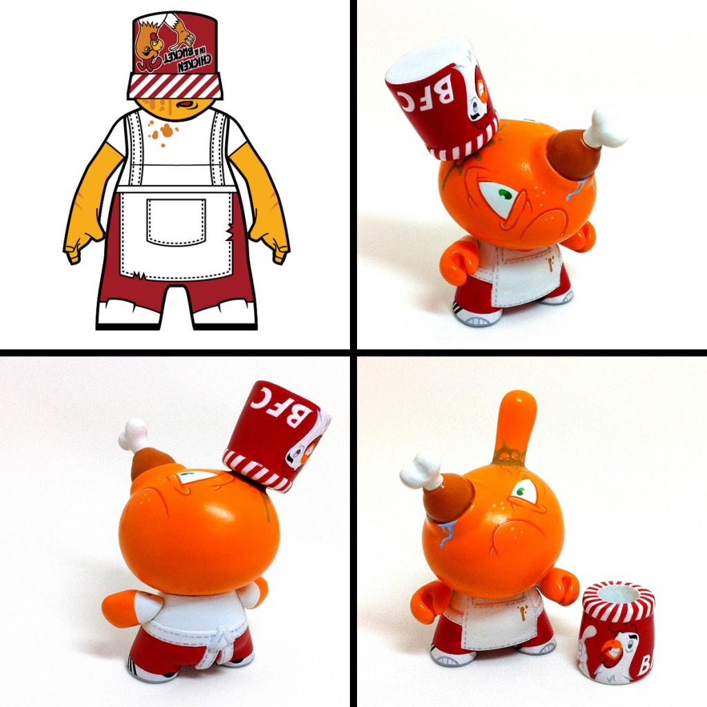 Raje Toys concept WRONG ORDER Dunny By Igor Ventura