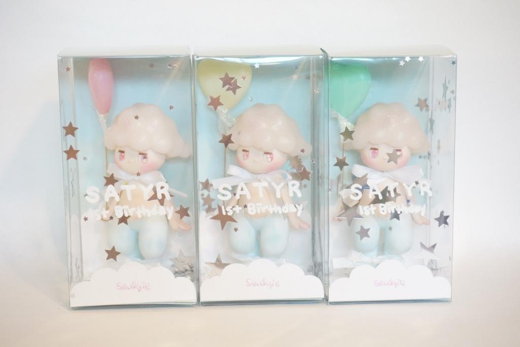 Seulgie lee 1st Birthday Satyr Myplasticheart packaging