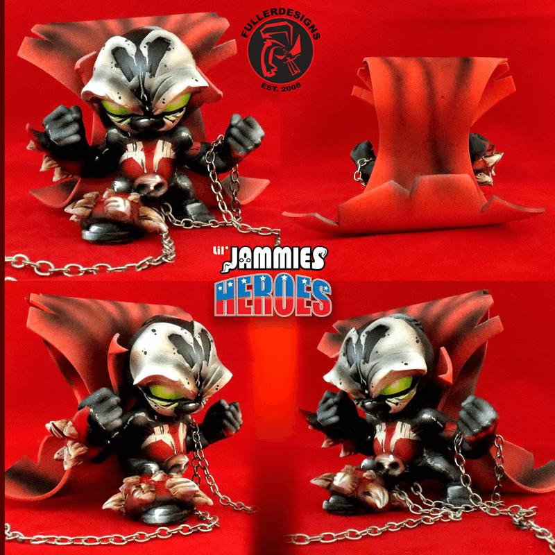 Spawn Venom Lil Jammie Heroes By Fuller Designs