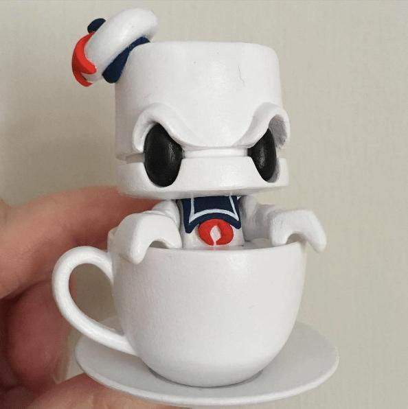 Stay Puft Tea by Krunster Lunartik Tea