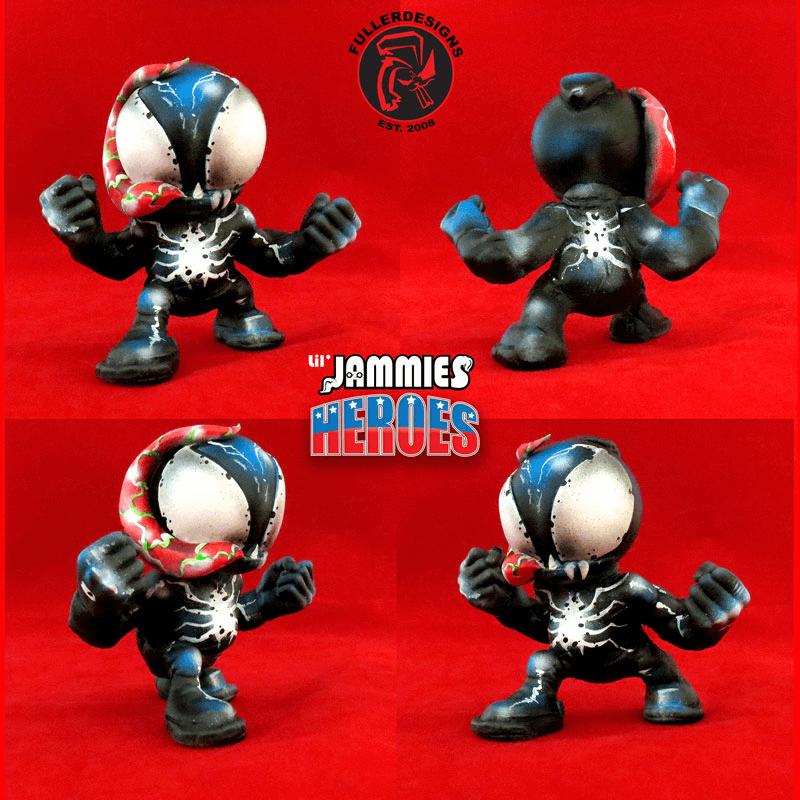 Venom Lil Jammie Heroes By Fuller Designs
