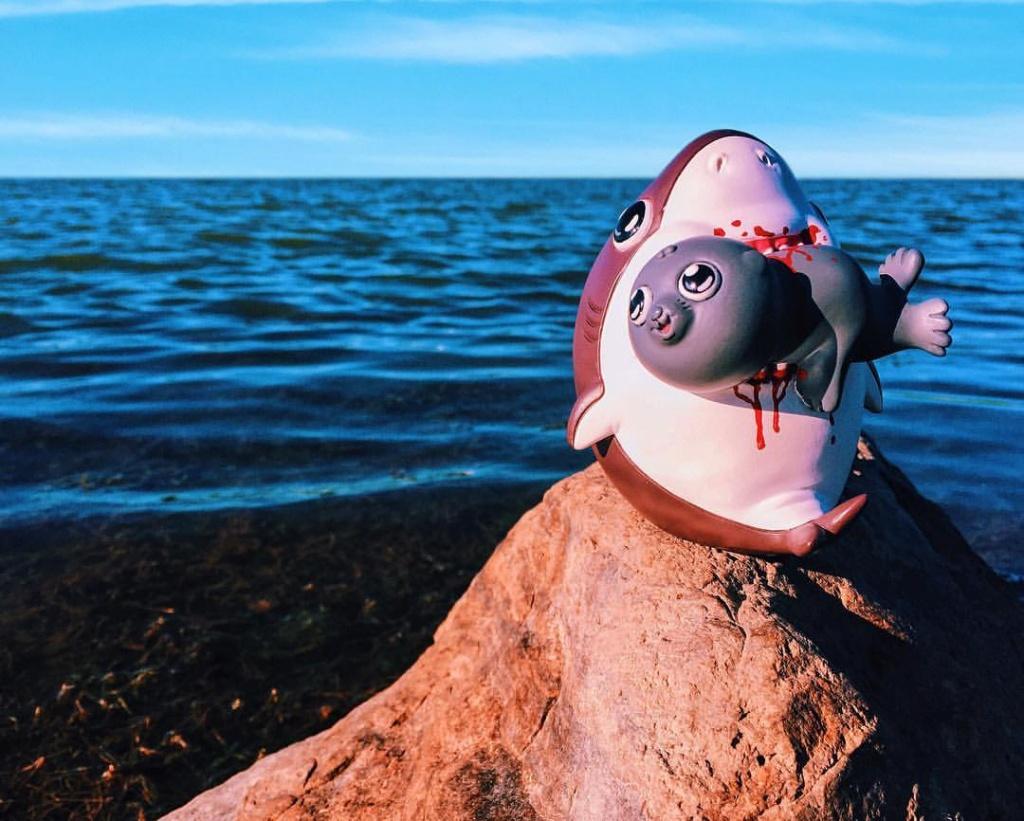 Adorable Circle Of Life - Sharky By Alex Solis