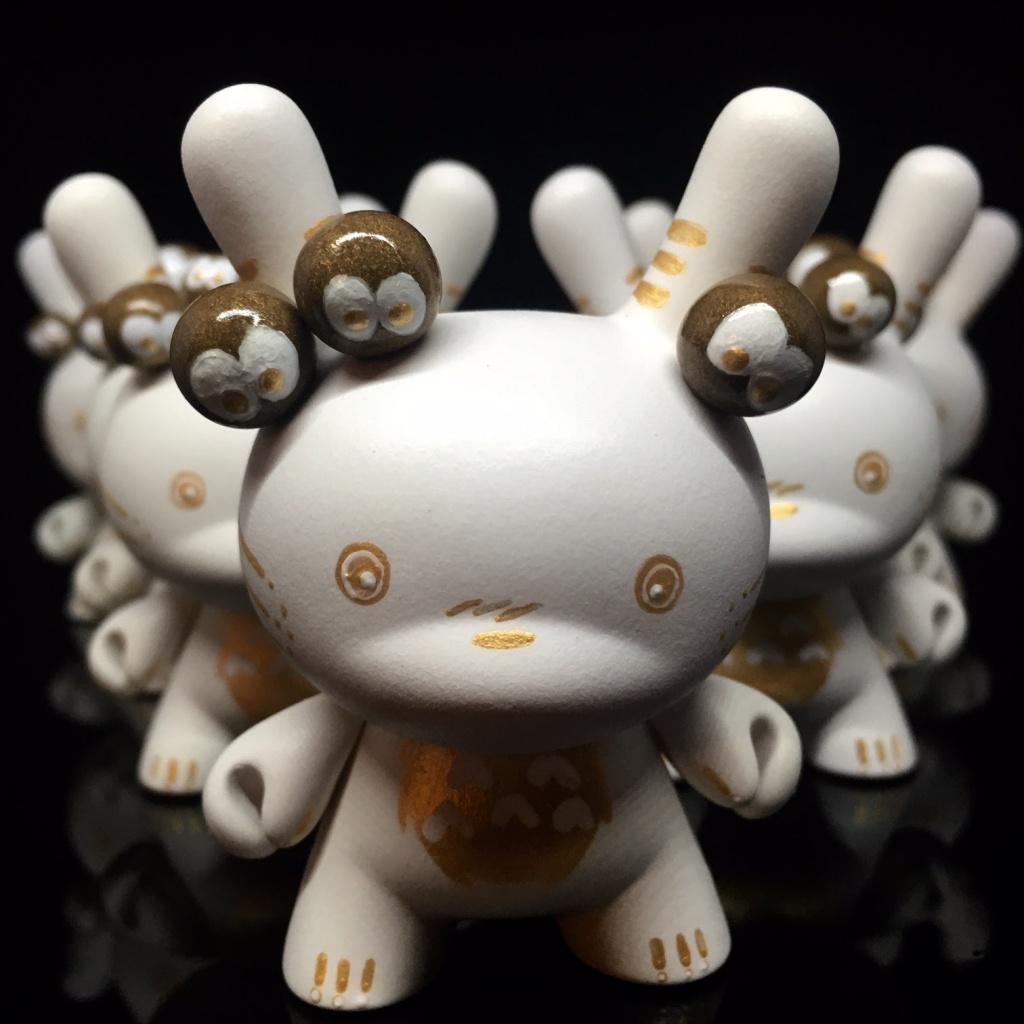 Custom Totoro Dunny Shinobistinks x Woot Bear Exclusive