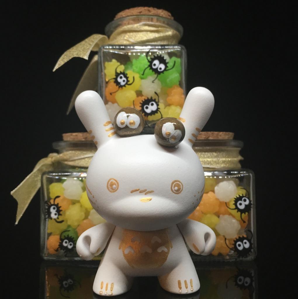 Custom Totoro Dunny Shinobistinks x Woot Bear Exclusive 5