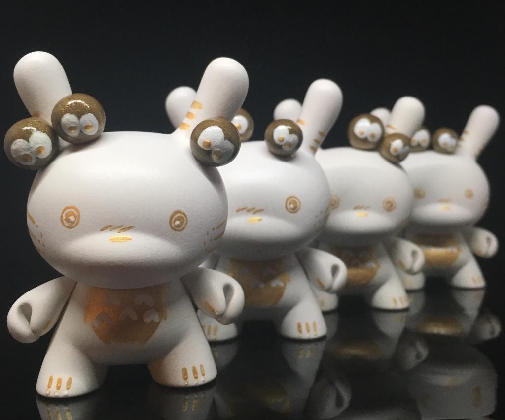 Custom Totoro Dunny Shinobistinks x Woot Bear Exclusive line 2016