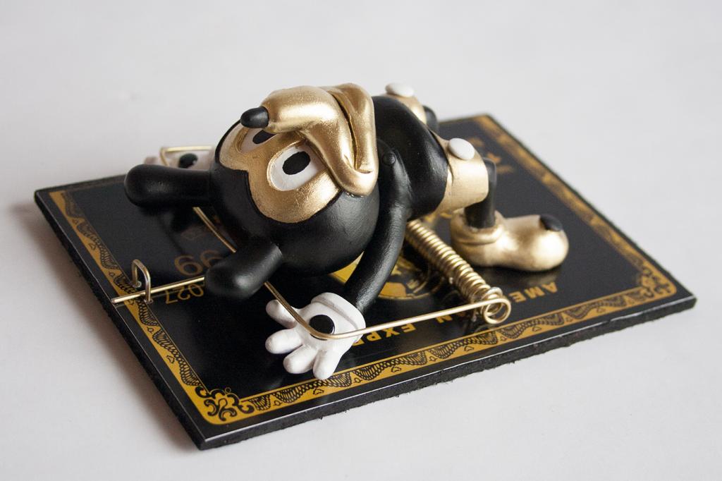 Mr Michael M Mouse Dunny By Avatar 666 american-depress kidrobot black 42324