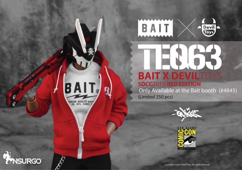 TEQ63 BAIT X DEVIL TOYS SDCC 2016