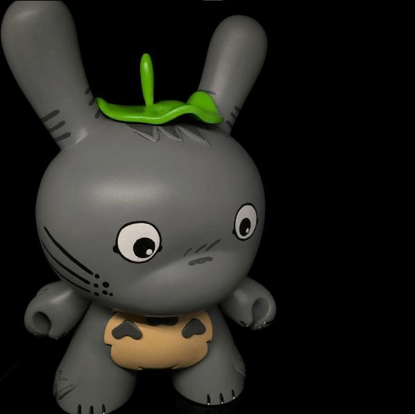 8 inch Totoro By shinobistinks