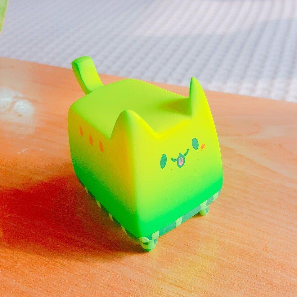 Box Cat MelonCat By Rato Kim