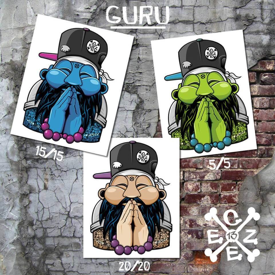 Chris Czee Tampin Guru Prints