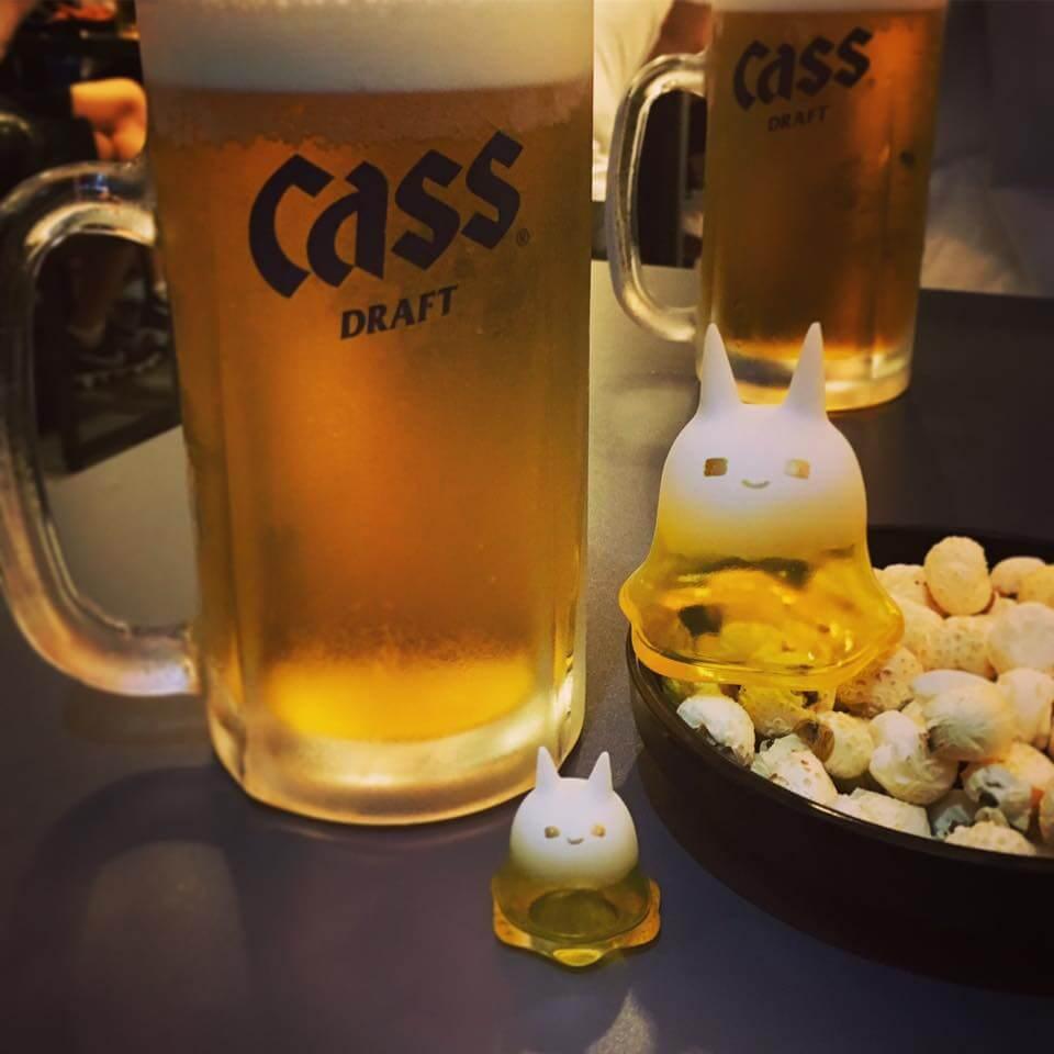 KKAMoxo yellow beer