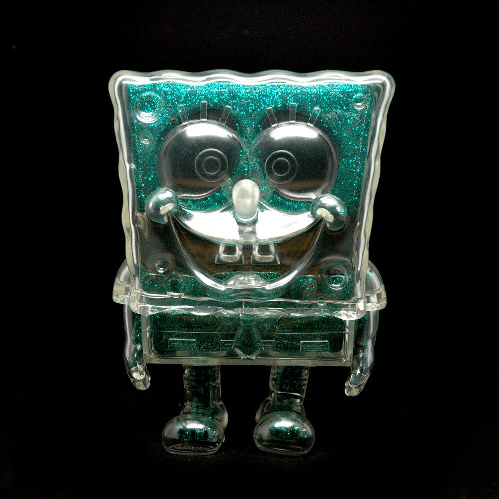 Secret Base's SPONGEBOB DX Green Glitter
