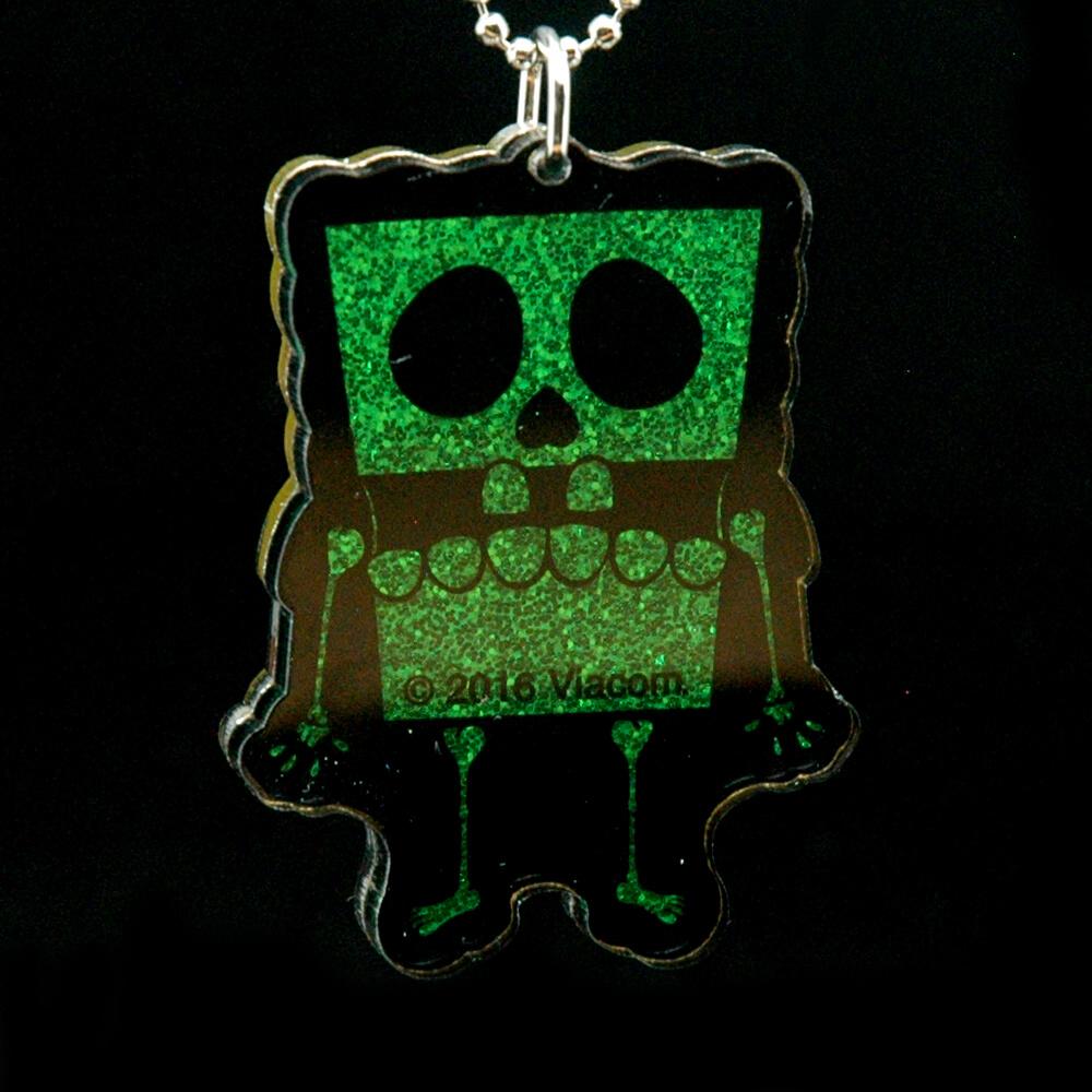 Secret Base's SPONGEBOB DX Green Glitter4