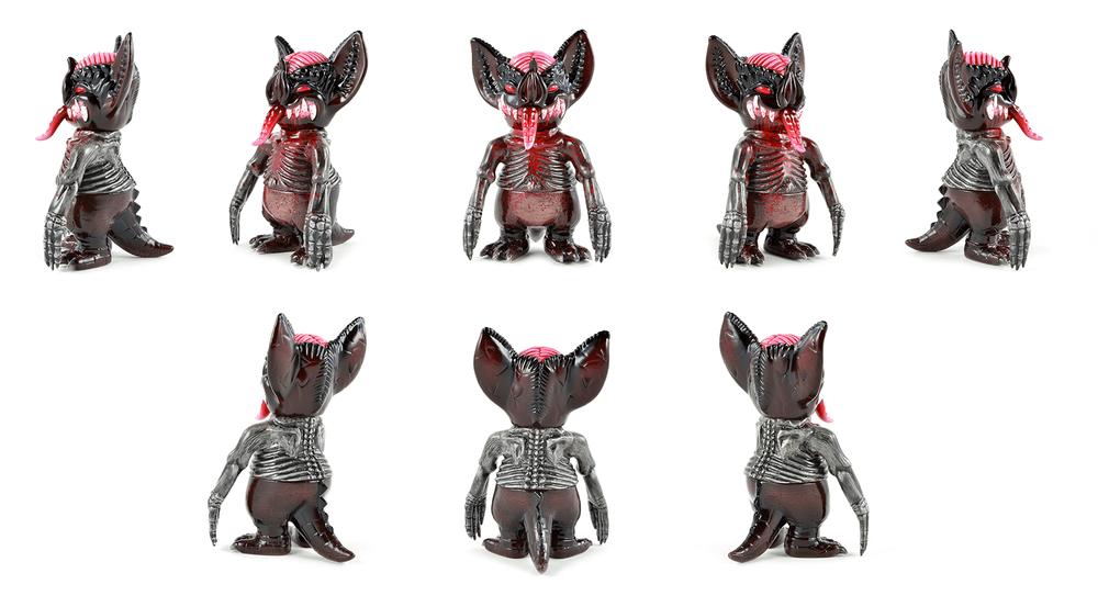 Skel Bat custom Mini Mockbat hellbox By Shify Toys