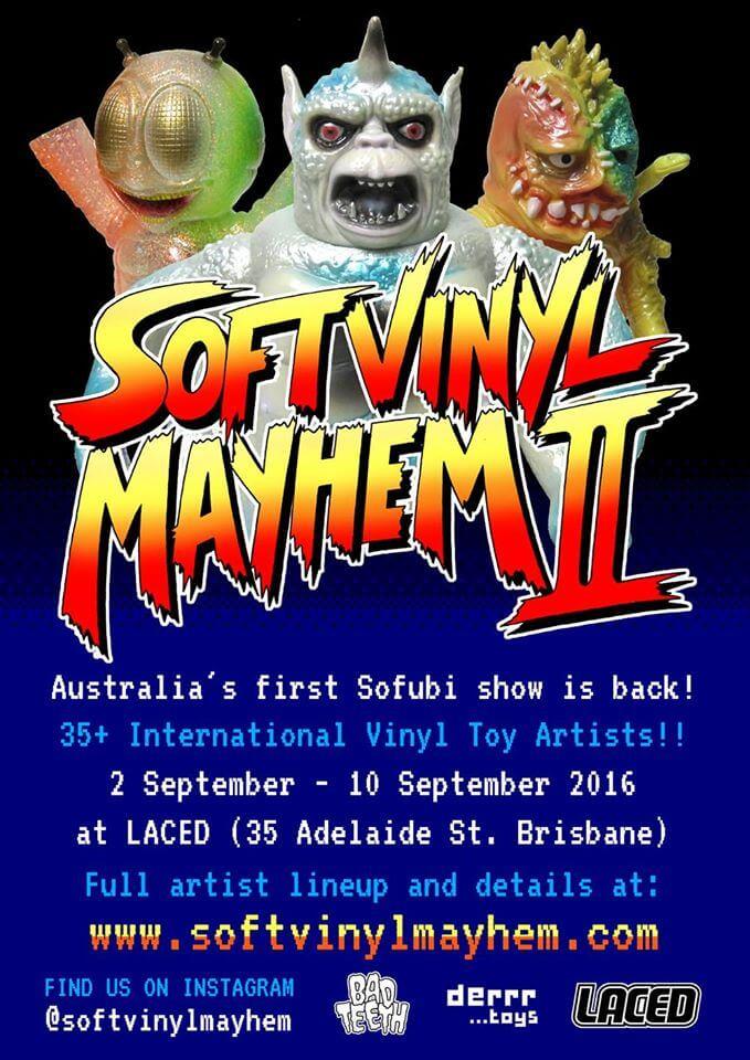 Soft Vinyl Mayhem 2