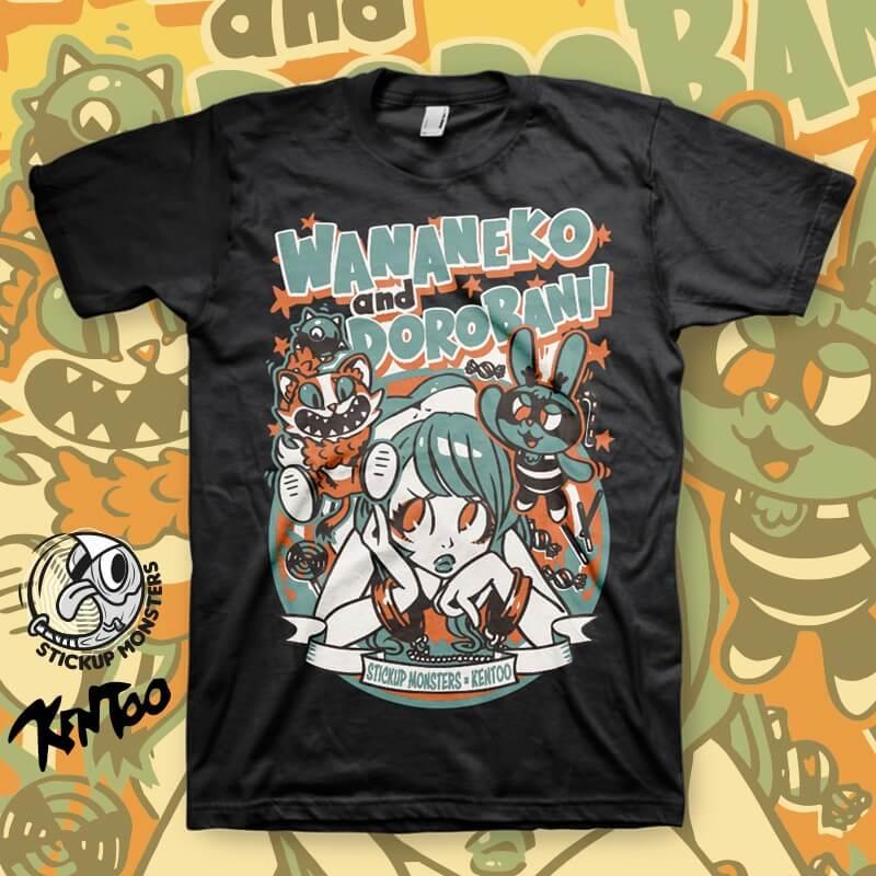 StickUp Monsters X Kentoo T-Shirt